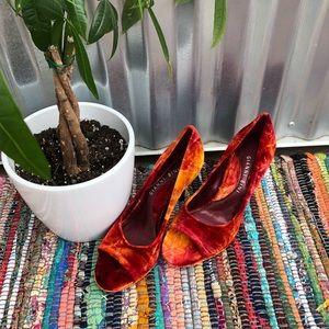 🌅Velvet sunset color Gianni Bini size 8 heels
